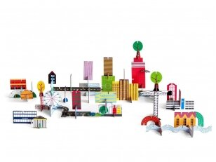 "Studio ROOF popierinis 3D miestas ,,Archiville"""