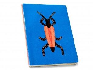 "Studio ROOF užrašų knygelė ,,Longhorn beetle"" (A6)"