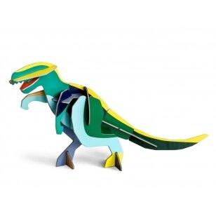"Studio ROOF perdirbto kartono 3D figūrėlė ,,Giant T-rex"""