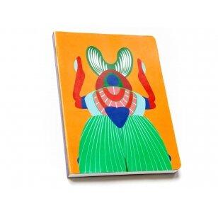 "Studio ROOF užrašų knygelė ,,Giant scarab beetle"" (A5)"