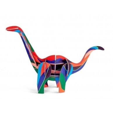 "Studio ROOF 3D figūrėlė iš perdirbto kartono ,,Diplodocus"""