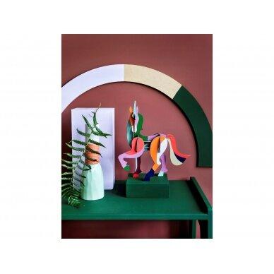 "Studio Roof 3D figūrėlė iš perdirbto kartono ,,Giant unicorn"" 2"