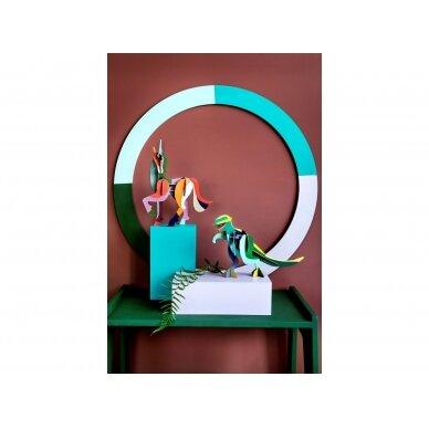 "Studio Roof 3D figūrėlė iš perdirbto kartono ,,Giant unicorn"" 3"
