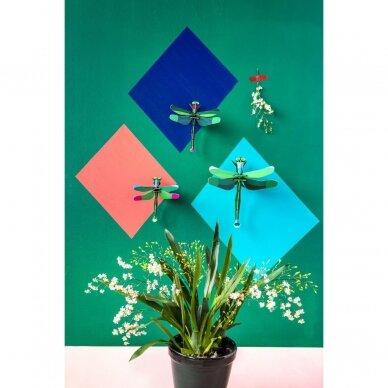 Studio ROOF dekoracija ,,Dragonflies'' (3 vnt.) 2