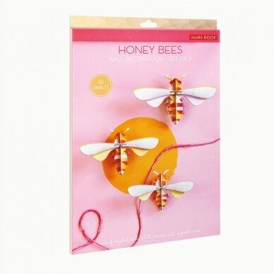 """Studio ROOF dekoracija ,,Honey bees"""" (3 vnt.) 3"""