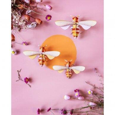 """Studio ROOF dekoracija ,,Honey bees"""" (3 vnt.) 4"""