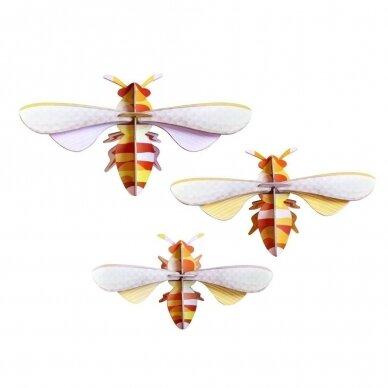 """Studio ROOF dekoracija ,,Honey bees"""" (3 vnt.)"""