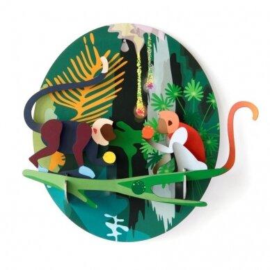 "Studio ROOF dekoracija ,,Jungle animals: monkeys"""
