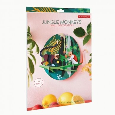 "Studio ROOF dekoracija ,,Jungle animals: monkeys"" 3"