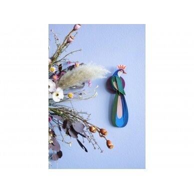 "Studio ROOF dekoracija ,,Paradise bird: Banda"" 2"