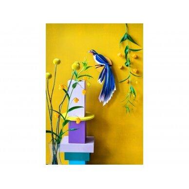 "Studio ROOF dekoracija ,,Paradise bird: flores"" 2"