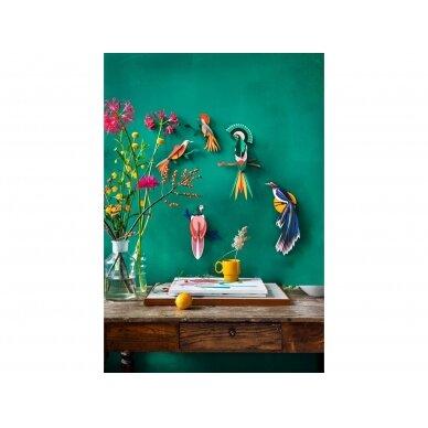 "Studio ROOF dekoracija ,,Paradise bird: flores"" 3"