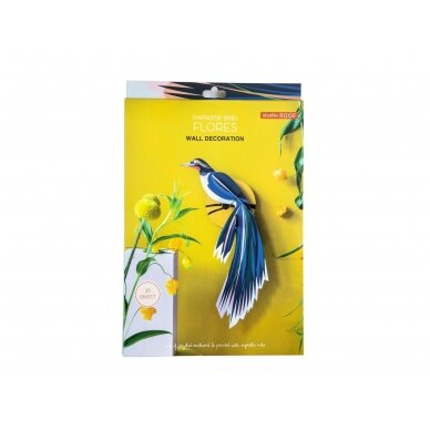 "Studio ROOF dekoracija ,,Paradise bird: flores"" 4"