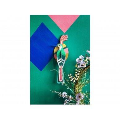 """Studio ROOF dekoracija ,,Paradise bird: Nias"""" 2"""