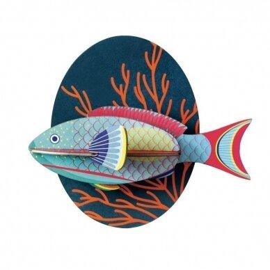 "Studio ROOF dekoracija ,,Parrotfish"""