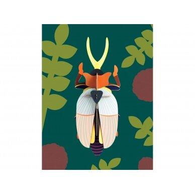 """Studio ROOF dekoracija ,,Rhinoceros beetle"""" 2"""