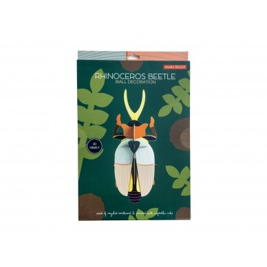 """Studio ROOF dekoracija ,,Rhinoceros beetle"""" 4"""