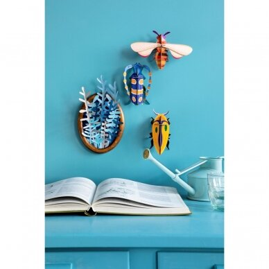 "Studio ROOF dekoracija ,,Small insects: rosalia beetle"" 3"