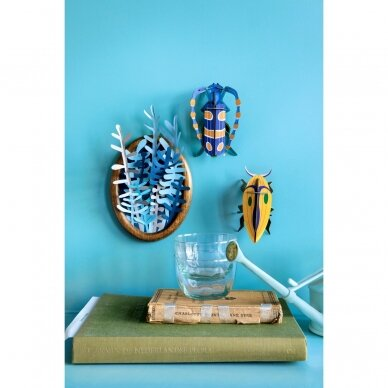 "Studio ROOF dekoracija ,,Small insects: rosalia beetle"" 4"