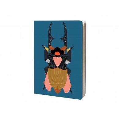"""Studio ROOF eskizų knyga ,,Giant stag beetle"""" (A4) 2"""
