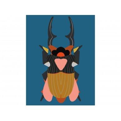 """Studio ROOF eskizų knyga ,,Giant stag beetle"""" (A4)"""
