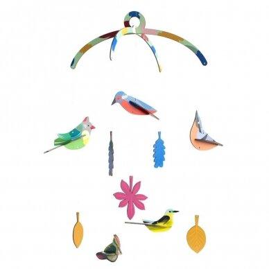 """Studio ROOF kabanti dekoracija ,,Garden birds"""""""