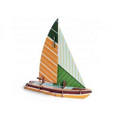 """Studio ROOF popierinis laivas ,,Sailboat"""""""