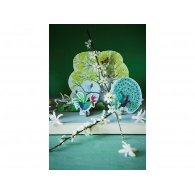 "Studio ROOF pop-out atvirukas ,,Chicken tree"" 2"