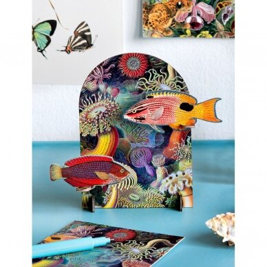 """Studio ROOF pop-out atvirukas ,,Extravaganza: fishes"""" 2"""