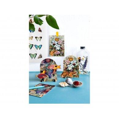 "Studio ROOF pop-out atvirukas ,,Extravaganza: leopard"" 4"