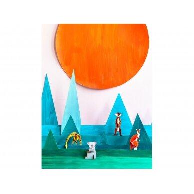 """Studio ROOF pop-out atvirukas ,,Giraffe"""" 4"""