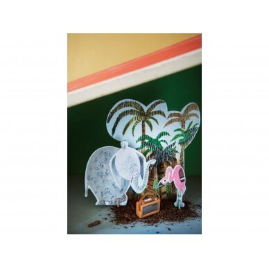 "Studio ROOF pop-out atvirukas ,,Jungle elephant"" 2"