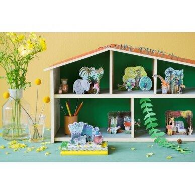 """Studio ROOF pop-out atvirukas ,,Jungle giraffe"""" 3"""