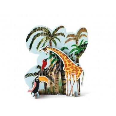 """Studio ROOF pop-out atvirukas ,,Jungle giraffe"""""""
