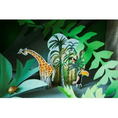 """Studio ROOF pop-out atvirukas ,,Jungle giraffe"""" 2"""