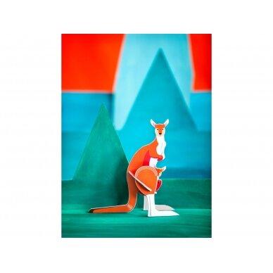 "Studio ROOF pop-out atvirukas ,,Kangaroo"" 2"