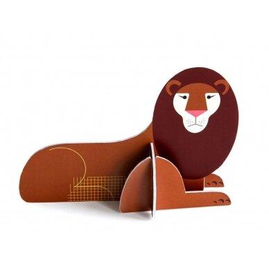 "Studio ROOF pop-out atvirukas ,,Lion"""