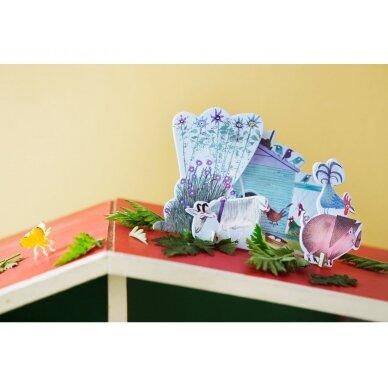 "Studio ROOF pop-out atvirukas ,,Little farm"" 3"