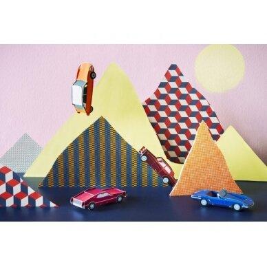 "Studio ROOF popierinė 3D mašina ,,Mustang"" 2"