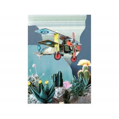 "Studio ROOF popierinis 3D lėktuvas ,,Aero"" 3"
