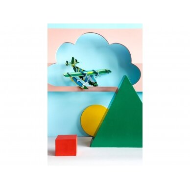 "Studio ROOF popierinis 3D lėktuvas ,,Seaplane"" 2"