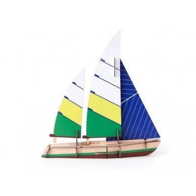 "Studio ROOF popierinis 3D laivas ,,Beaufort"""