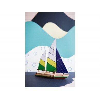 "Studio ROOF popierinis 3D laivas ,,Beaufort"" 2"