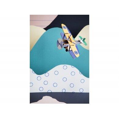 """Studio ROOF popierinis 3D lėktuvas ,,Goshawk"""" 2"""