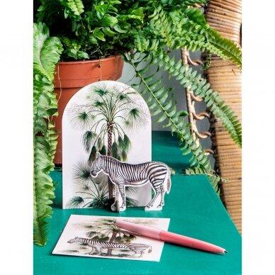 """Studio ROOF pop-out atvirukas ,,Tropical zebra"""" 3"""