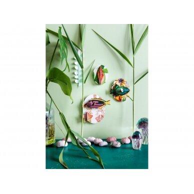 "Studio ROOF sienos dekoracija ,,Collectors box fishes - vol1"" 2"