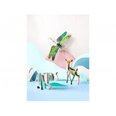 "Studio ROOF 3D totemas iš perdirbto kartono ,,Elephant"" 4"