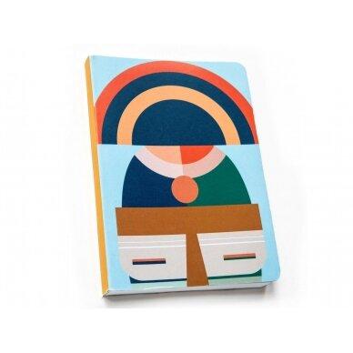 "Studio ROOF užrašų knygelė ,,Brooklyn"" (A5)"