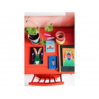 "Studio ROOF užrašų knygelė ,,Giant scarab beetle"" (A5) 2"