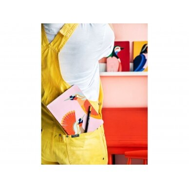 """Studio ROOF užrašų knygelė ,,Paradise bird Obi"""" (A5) 2"""